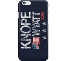 Knope Wyatt Distressed  iPhone Case/Skin