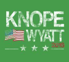 Knope Wyatt Distressed  Kids Tee