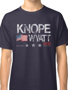 Knope Wyatt Distressed  Classic T-Shirt