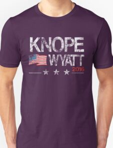 Knope Wyatt Distressed  T-Shirt