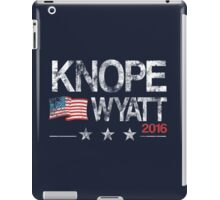 Knope Wyatt Distressed  iPad Case/Skin