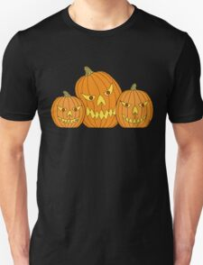 Creepy Jack-o-Lantern Trio T-Shirt