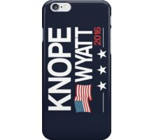 Knope Wyatt 2016 iPhone Case/Skin