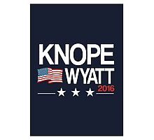 Knope Wyatt 2016 Photographic Print