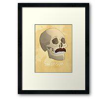 Famous Facial Hair: The Swanson Framed Print