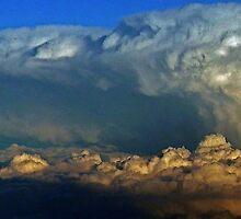 Cumulonimbus clouds  by BaZZuKa