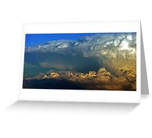 Cumulonimbus clouds  Greeting Card
