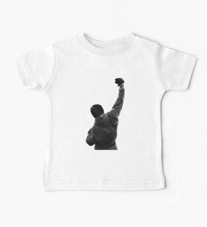 Never give UP! Rocky Balboa Baby Tee
