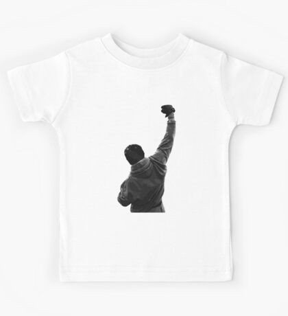 Never give UP! Rocky Balboa Kids Tee