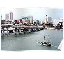 Miami Harbor Poster