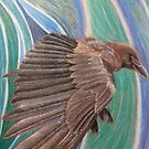 Flight of the crow by Leanne Inwood