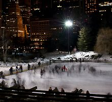 Wollman Skating Rink, Central Park, NYC II by Henri Irizarri