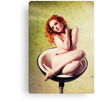 With Hair of Burnished Copper II Canvas Print