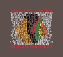 Blackhawks 2015 Championship Typographic Design Unisex T-Shirt
