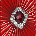 Red Pattern with a ruby  (1700 views) by aldona