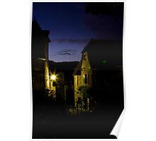 Twilight at Le Petit Grillon Poster
