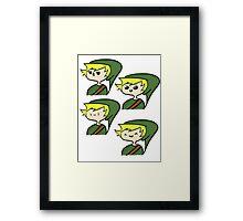Link! Framed Print
