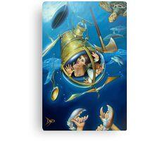 Aquaria Rising Canvas Print