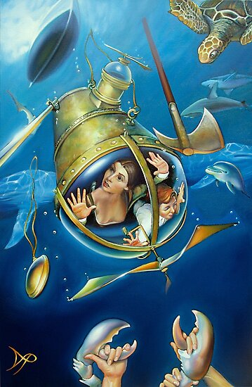 Aquaria Rising by Patrick Pierson