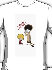 afro calvin and hobes T-Shirt