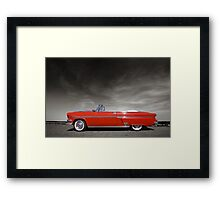 Red Classic Car Framed Print