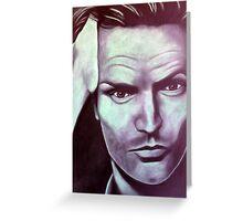 Sting, alias Gordon Sumner Greeting Card