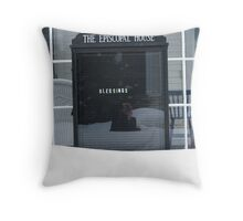 Almost Buried, But Blessed Nonetheless, Chautauqua, NY Throw Pillow