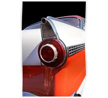 Tail Lamp Of A Classic Car Poster