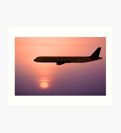 Jet Liner Art Print