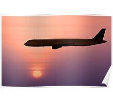 Jet Liner Poster