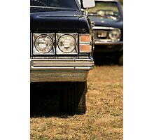 Agressive looking classic cars Photographic Print