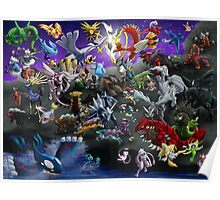 Pokemon: Gathering of Legends - poster/print Poster