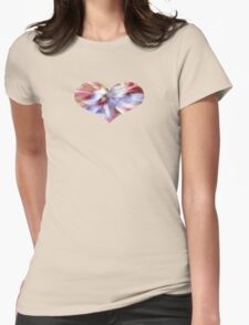 Petals - JUSTART © Womens Fitted T-Shirt