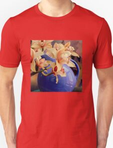 Blue Ball Pitcher Pitched T-Shirt