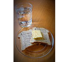 Bread of Life, Living Water Photographic Print