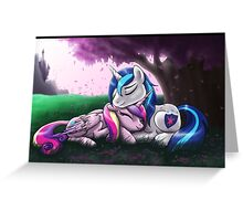 Cadence and Shining Armor - print/poster Greeting Card