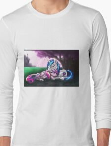 Cadence and Shining Armor - print/poster Long Sleeve T-Shirt