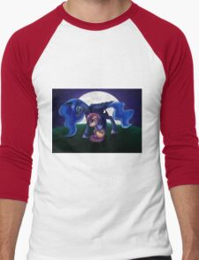 Sleepless - Luna and Scootaloo print/poster Men's Baseball ¾ T-Shirt