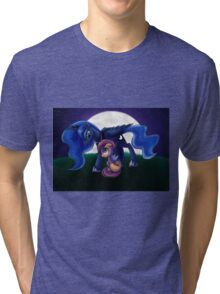 Sleepless - Luna and Scootaloo print/poster Tri-blend T-Shirt