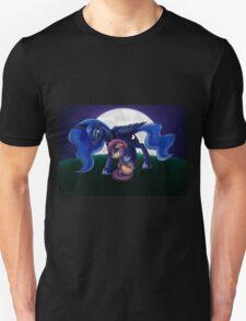 Sleepless - Luna and Scootaloo print/poster Unisex T-Shirt
