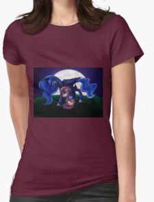 Sleepless - Luna and Scootaloo print/poster Womens Fitted T-Shirt