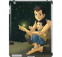 To Thrive - Grave of the Fireflies print/poster iPad Case/Skin