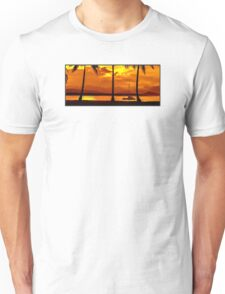 Sunset Sailing Serenity Unisex T-Shirt