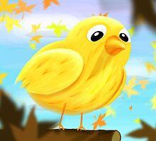 Sad bird by JiriMihal