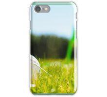 Golf ball in the rough iPhone Case/Skin
