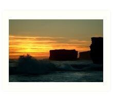 Sherbrooke Beach,Great Ocean Road Art Print