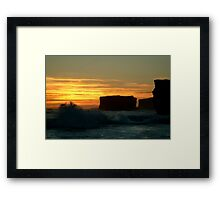 Sherbrooke Beach,Great Ocean Road Framed Print
