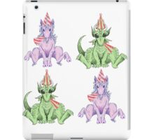 Party Hat Unicorns and Dragons iPad Case/Skin