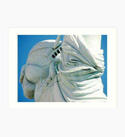 Statue of Liberty from a different angle Art Print