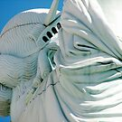 Statue of Liberty from a different angle by Susan Leonard